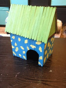 easy to make hamster toys and huts