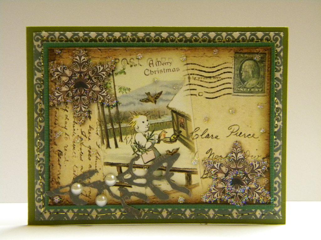 Vintage Snowman Christmas Cards The Handmade Card Blog