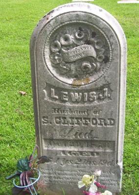 Lewis J Clifford gravestone