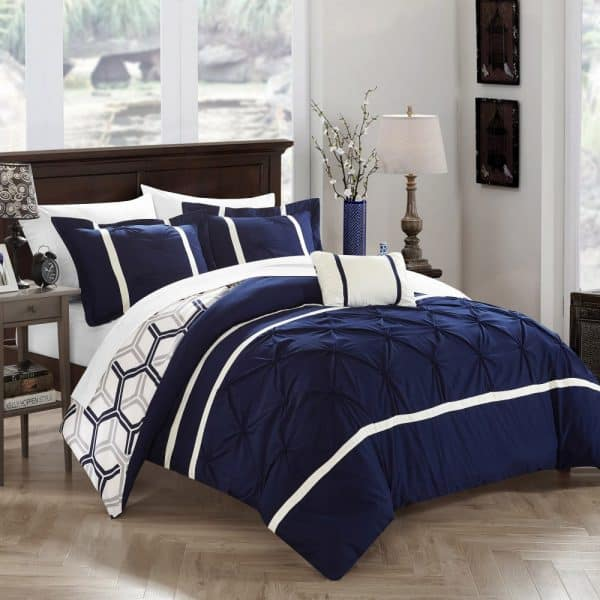 Navy Blue And Grey Bedroom Ideas Novocom Top