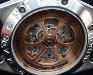 El exclusivo modelo Variocurve de Nord-Zeitmaschine