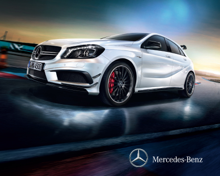 Ya llegó a México el nuevo Mercedes-Benz Clase A 45 AMG Edition 1