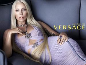 Lady Gaga, la cara de Versace para el 2104