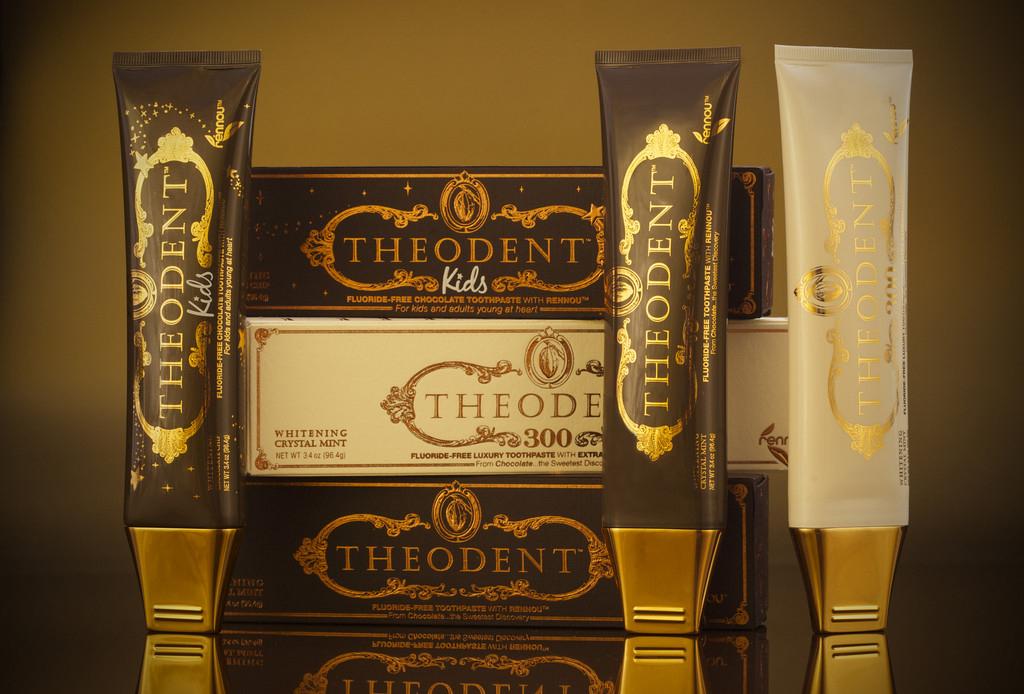 Theodent es la pasta dental de chocolate