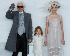 El winter wonderland de Chanel