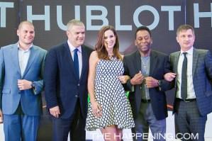 El Rey Pelé con un HUBLOT bajo la manga