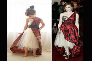 Con 4 años, ella imita los mejores atuendos del MET Gala
