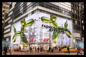 Jeff Koons para H&M