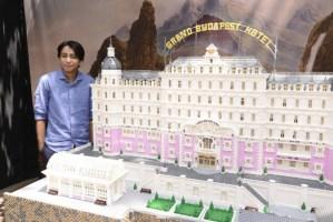El Gran Hotel Budapest… hecho de Legos