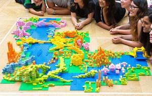 Arquitectura londinense diseñada con Lego