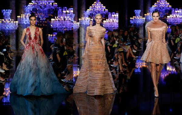 Elie Saab Haute Couture…simplemente exquisito