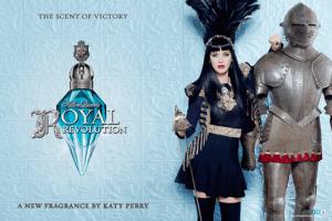 Katy Perry presenta su tentadora Royal Revolution