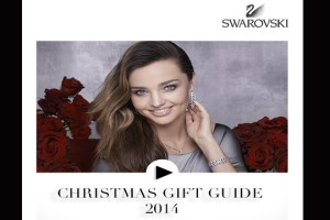 Swarovski presenta su guía de regalos navideños