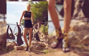 Karolina Kurkova es el nuevo rostro de Giuseppe Zanotti