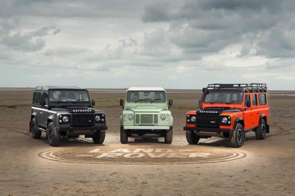 Las ediciones limitadas de las Land Rover Defenders
