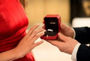 Tres románticas propuestas con Cartier