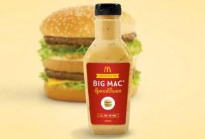 ¿Cuánto pagarías por una botella de la salsa de Big Mac?