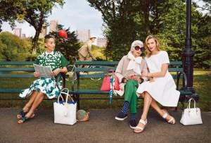 Iris Apfel y Karlie Kloss para Kate Spade New York