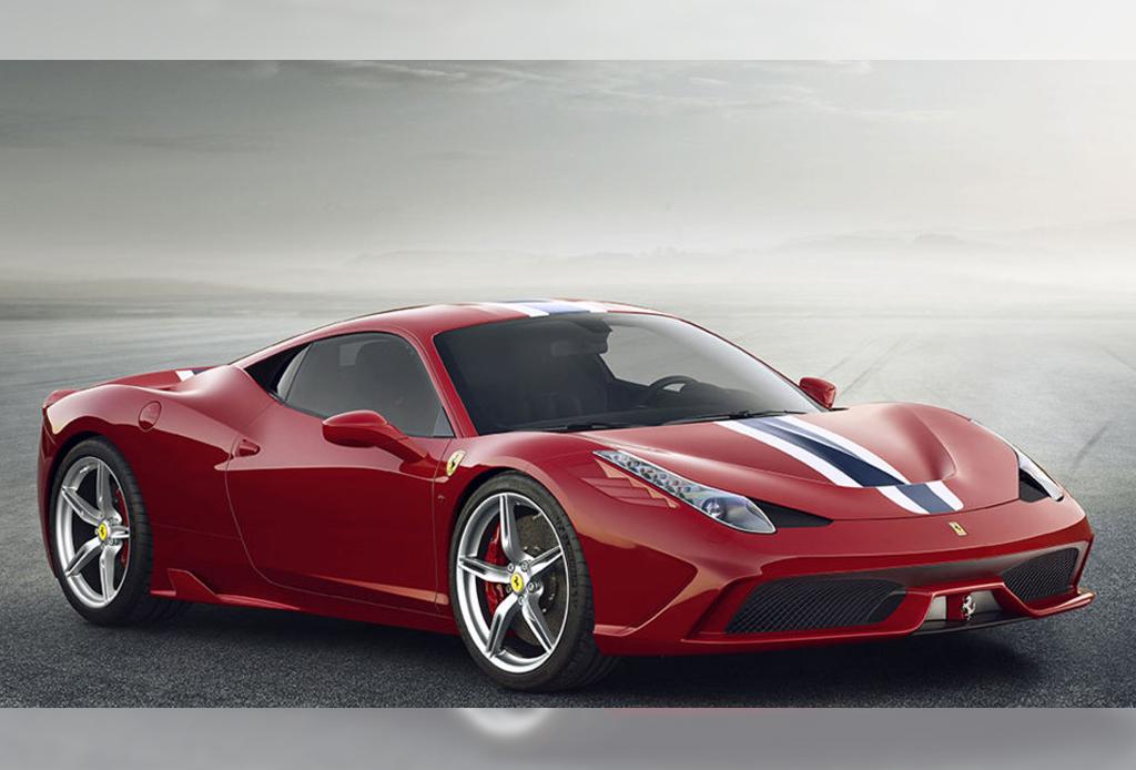 10 automóviles que todo hombre desea - Ferrari-458