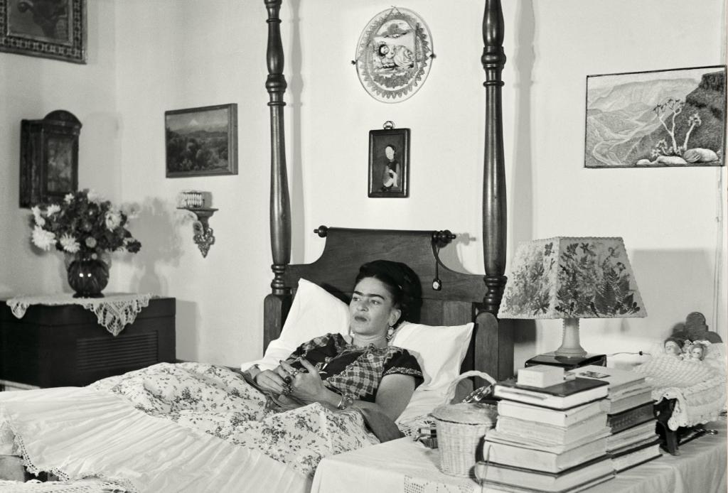 Los últimos años de Frida Kahlo