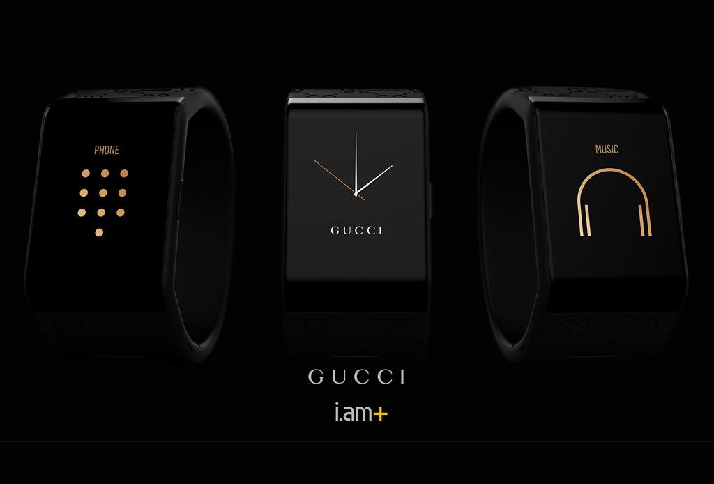 Gucci y will.i.am presentan una exclusiva smartband