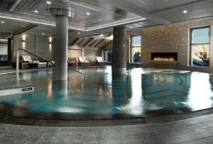 Cinco hoteles en Los Alpes con exclusivos spas