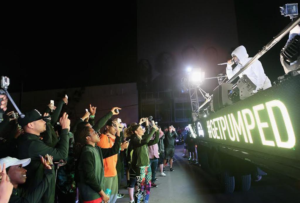 Kendrick Lamar y Reebok paralizan a Los Ángeles