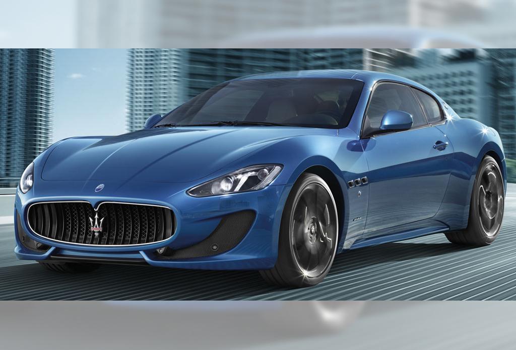 10 automóviles que todo hombre desea - MaseratiGranTurismo