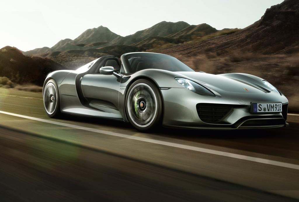 10 automóviles que todo hombre desea - Porsche-Spyder