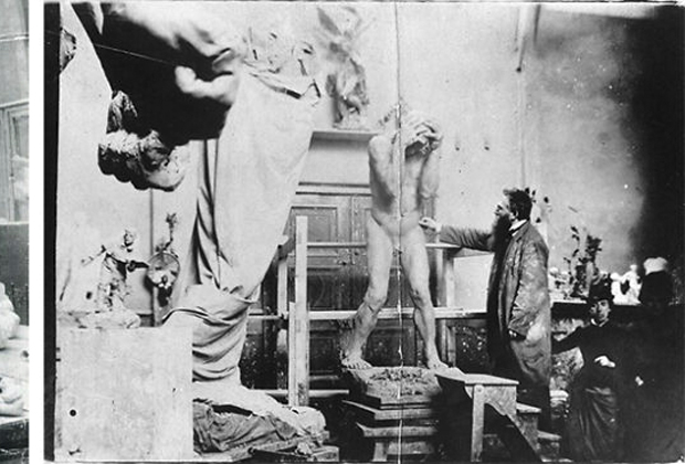 10 famosos artistas en su estudio creativo - Studio-Auguste-Rodin