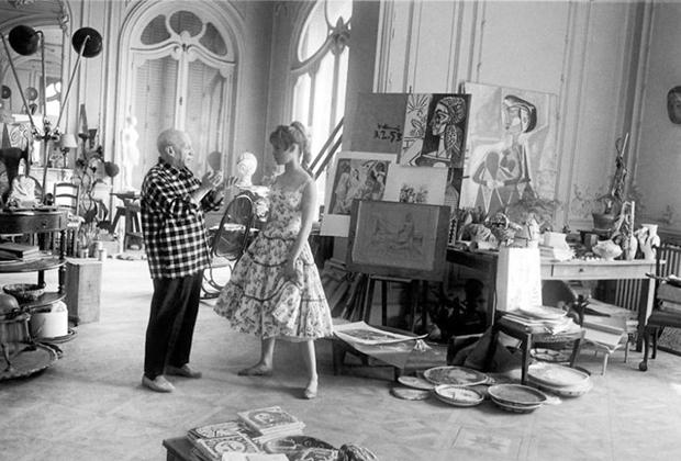 10 famosos artistas en su estudio creativo - Studio-Pablo-Picasso