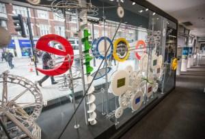 Google abrió su primera tienda