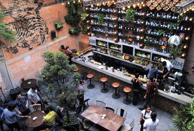 Los mejores lugares para disfrutar un gin en la CDMX - gin-gin-1024x694