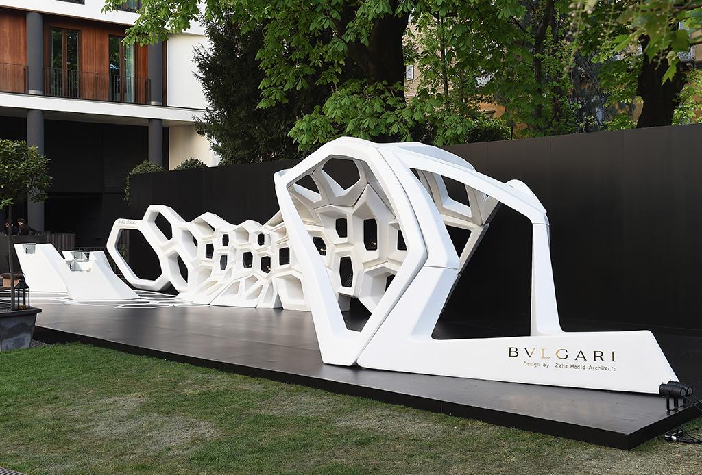 Bvlgari y Zaha Hadid juntos en Milán