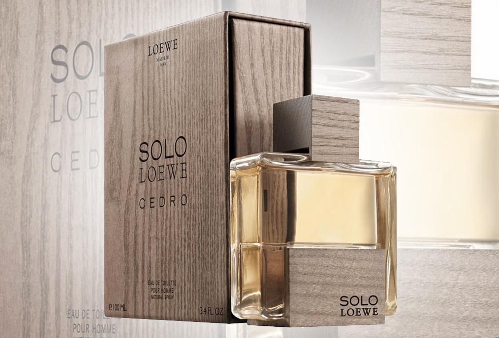 Loewe Solo Cedro: Equilibrio contrastante para hombre moderno