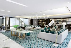 La suite más grande de Los Ángeles… by Vivienne Westwood