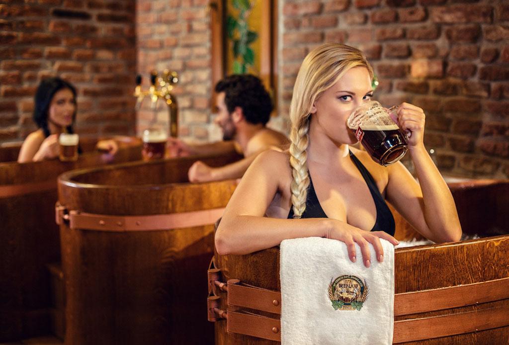 Tu nuevo tratamiento de spa favorito incluye ¡cerveza!