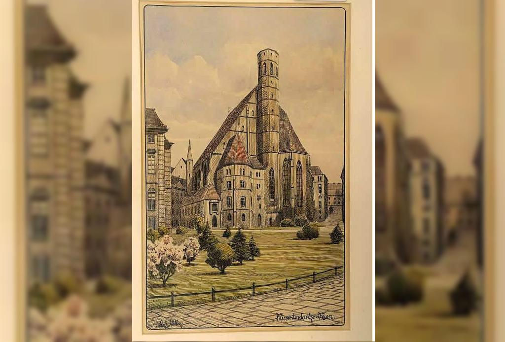 Pondrán a la venta obras de arte que hizo Hitler