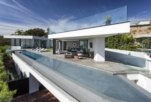 La casa de Calvin Klein en Hollywood