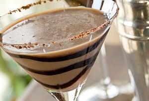 La receta de un delicioso martini de Nutella