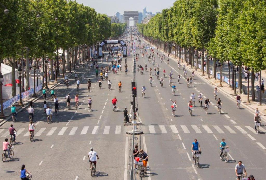 Los parisinos vivirán sin coches durante un día