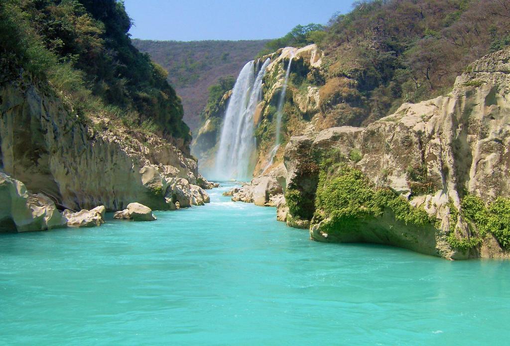 Top 5: las cascadas más impresionantes de México - Tamul