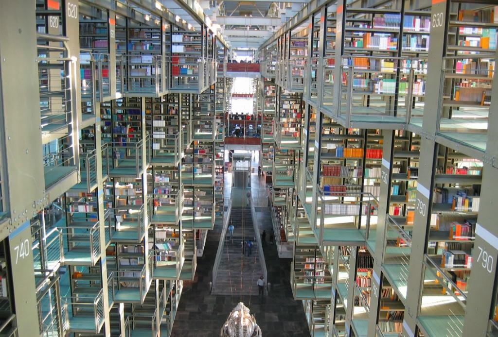 5 paraísos para lectores en la CDMX - Vasconselos