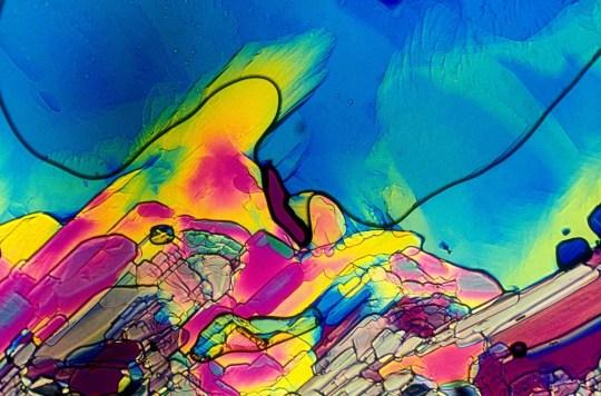 Así se ve el tequila (y otros drinks) bajo el microscopio - Vino-rosado