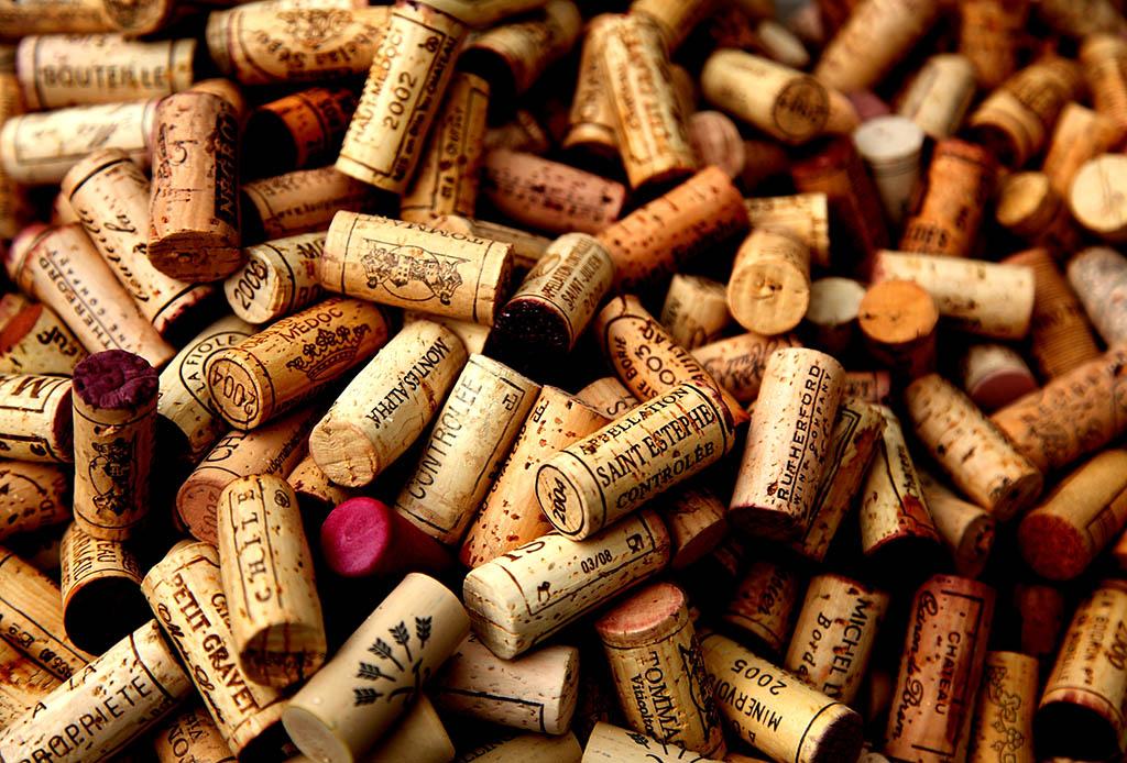 10 ideas de decoración utilizando corchos de vino