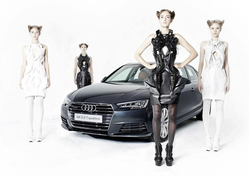 La realidad virtual de Anouk Wipprecht y Audi