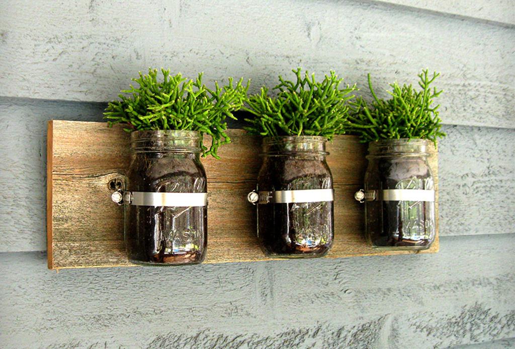 Cultiva tus propios condimentos de cocina con estas cinco ideas de decoración