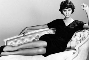 La elegancia de Sophia Loren hecha pluma