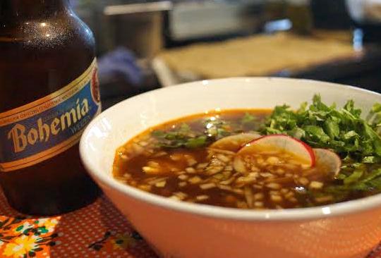 Disfruta los sabores de México en Mercado Roma - pozole