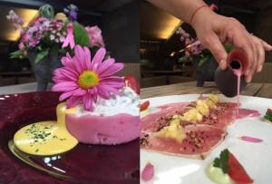 El menú rosa de Astrid y Gastón